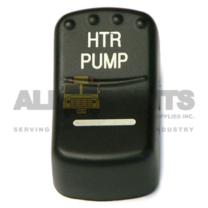 BLUE BIRD-STYLE ROCKER HEATER PUMP SWITCH COVER