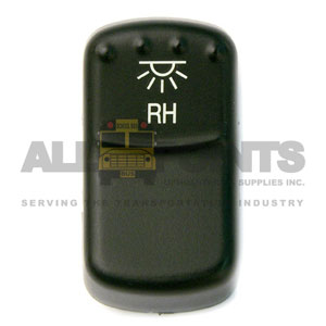 BLUE BIRD-STYLE ROCKER R/S DOME SWITCH COVER