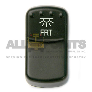 BLUE BIRD-STYLE ROCKER FRONT DOME SWITCH COVER