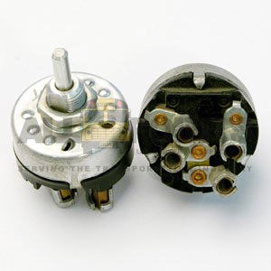 WIPER SWITCH,  4 BULLET TERMINALS