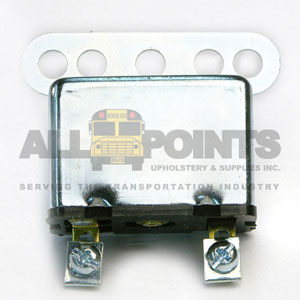 METAL BUZZER 12V, 2 SCREW