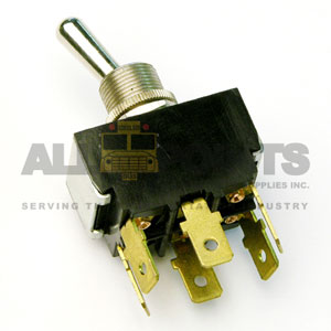 TOGGLE SWITCH, 6 BLADE, DOUBLE POLE DOUBLE THROW,