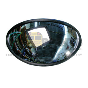 SAFETY CROSSOVER MIRROR, BALL STUD MOUNT