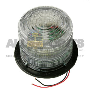CLEAR STROBE ROOF BEACON