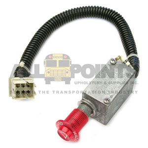 GM/BLUE BIRD HEAVY DUTY HAZARD SWITCH