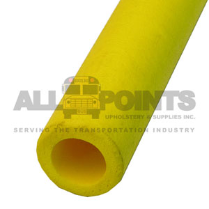 STANCHION TUBE - YELLOW 48""