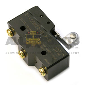 HEAVY DUTY LIMIT SWITCH WITH SHORT ROLLER, 3 SCREW