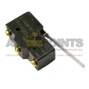 HEAVY DUTY LIMIT SWITCH, STRAIGHT BAR, 3 SCREW