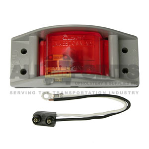 RED MARKER LIGHT ASSEMBLY, MODEL 12