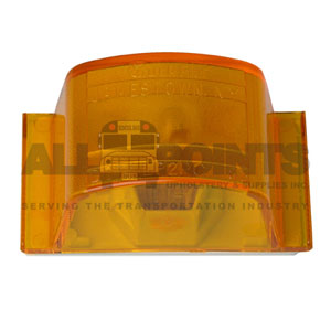 AMBER  MARKER LIGHT LAMP, MODEL 12