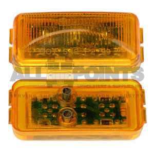 AMBER MARKER LIGHT MODEL 15 LED