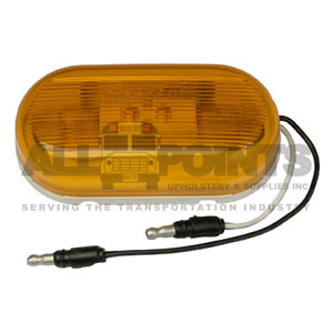 AMBER MARKER LIGHT, MODEL 26 WITH GROUND