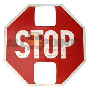 STOP SIGN DECAL