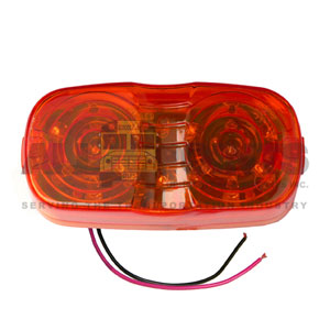RED MARKER LIGHT 19 LED