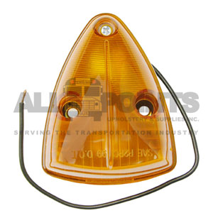 TRIANGLE MARKER LIGHT- AMBER