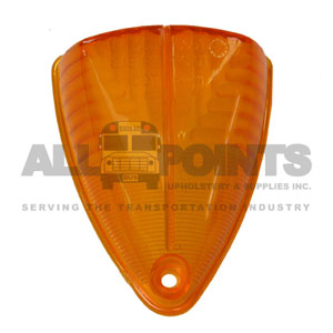 AMBER LENS FOR 5050, 1 HOLE