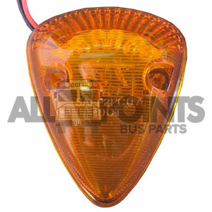 TRIANGLE MARKER LED- AMBER