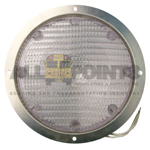 FLUSH MOUNT INTERIOR LIGHT- HALOGEN