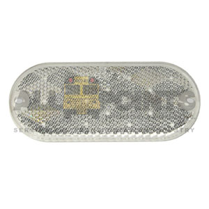 OVAL CLEAR REFLECTOR