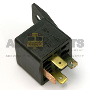 4 PRONG RELAY, HEAVY DUTY WITH BRACKET
