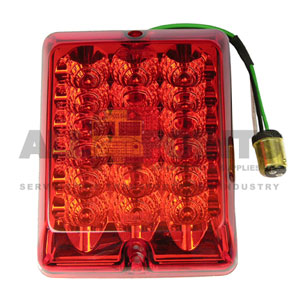 RECTANGULAR RED TAIL LED ASSEMBLY