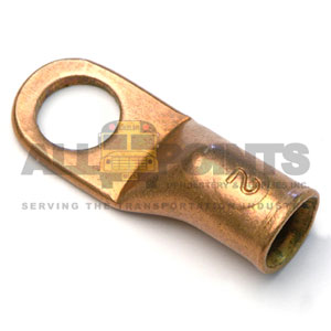 2 GA COPPER EYELET, 5/16 STUD