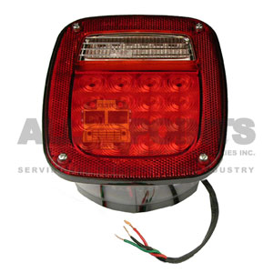 LED ASSEMBLY WITH LICENSE PLATE LIGHT, JEEP