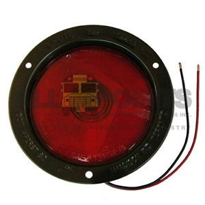 RED TAILLIGHT ASSEMBLY, DOUBLE CONTACT, 1157