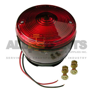RED TAILLIGHT ASSEMBLY, 2 SCREW WITH LICENSE PLATE
