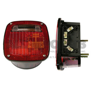 RED TAILLIGHT ASSEMBLY UNIVERSAL RIGHT HAND