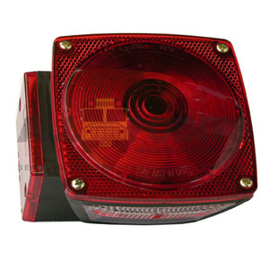 RED TRAILER LAMP