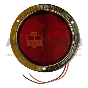 RED STAINLESS STEEL LAMP, FIELD RESEALABLE