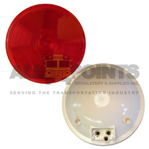 40 SERIES STOP/TAIL/TURN LIGHT, RED, 4""