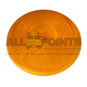 AMBER TAIL LIGHT LENS, SNAP ON