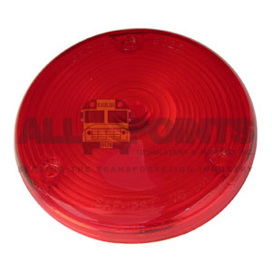TAIL LIGHT LENS, RED, 3 HOLE