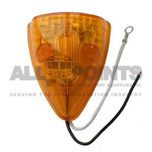 24 LED AMBER TRIANGLE MARKER