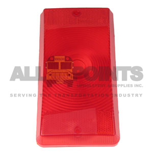 RED LENS FOR 460 SERIES TAIL LAMP