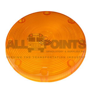 TAILLIGHT LENS - AMBER , SMOOTH