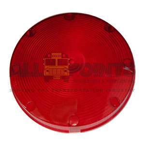 TAILLIGHT LENS - RED, SMOOTH