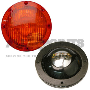 RED WARNING LIGHT ASSEMBLY, 7""