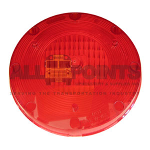 RED WARNING LIGHT LENS