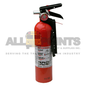 FIRE EXTINGUISHER, METAL, REFILLABLE