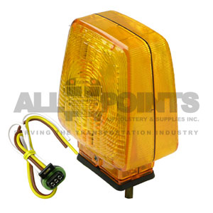 DOUBLE FACE TURN SIGNAL ASSEMBLY, AMBER