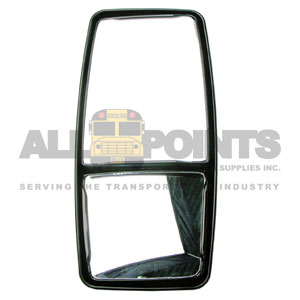 "8""x17"" DUAL MIRROR, POWER, OVERHANG MOUNT"