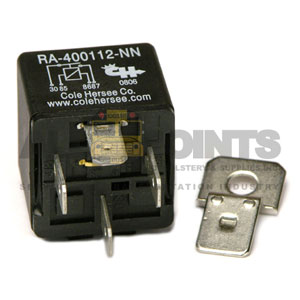 4 PRONG RELAY WITH BRACKET