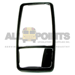 "8""x15"" DUAL MIRROR, MANUAL, UPRIGHT MOUNT"