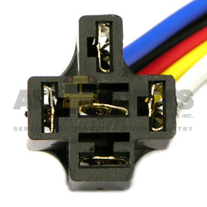 SOCKET FOR 5 PRONG RELAY
