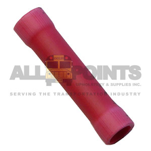 BUTT CONNECTOR, RED, 100 PCS.
