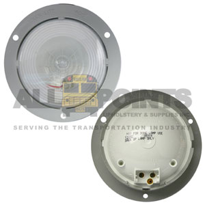 40 SERIES BACK UP LAMP, GRAY FLANGE