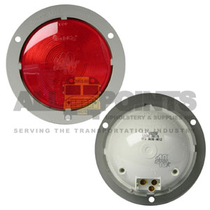 40 REFLECTOR W/FLANGE, RED